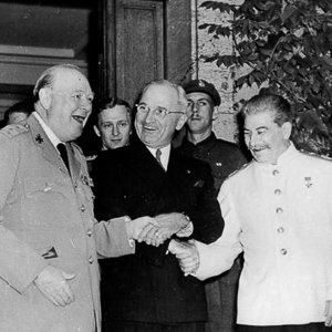 Potsdam Conference 1945 Stalin Truman Churchill