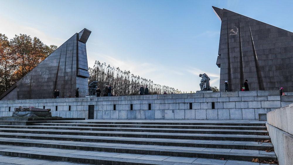 Soviet War Memorial Treptow East Berlin