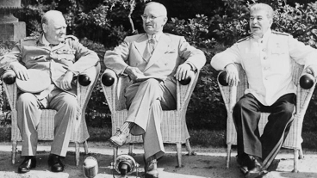 Big Three Potsdam Conference 1945