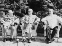 Potsdam Conference 1945 Winston Churchill Harry S. Truman Josef Stalin