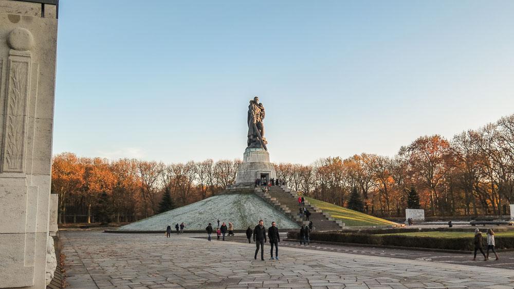 Soviet War Memorial Treptower Park Berlin