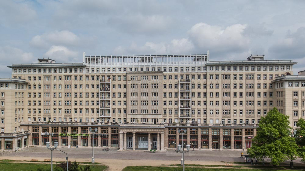 Stalin Blvd. East Berlin Ginger Bread Style Soviet Brutal Architecture