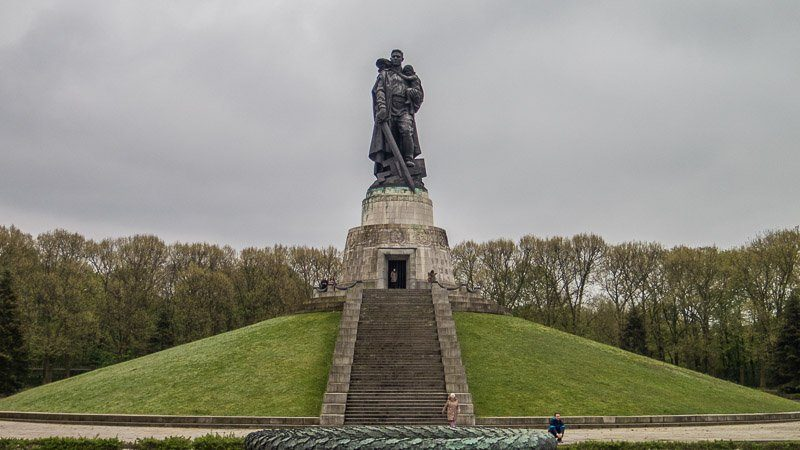 Soviet War Memorial Treptow Berlin