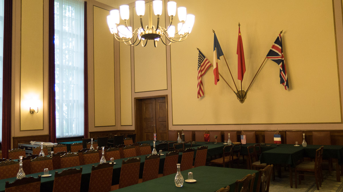 Capitulation Room Karlshorst Berlin