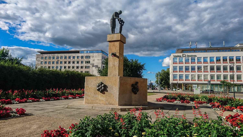 Iron Hut City (Stalin City) East Germany