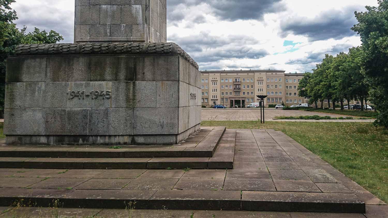 Soviet War memorial Eisenhüttenstadt