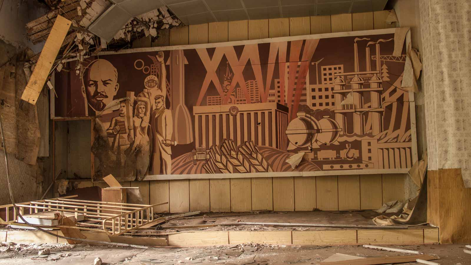Lenin Soviet Lost Places Germany