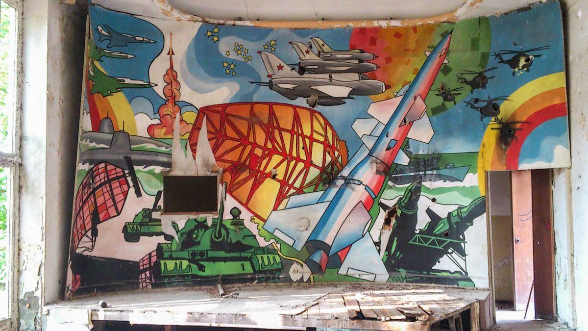 Soviet Mural Abandoned Place Berlin