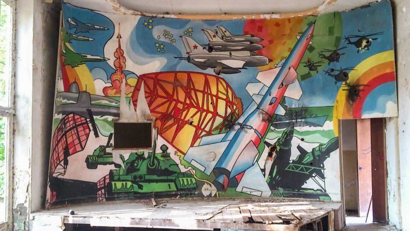 Soviet Mural Abandoned Place Berlin